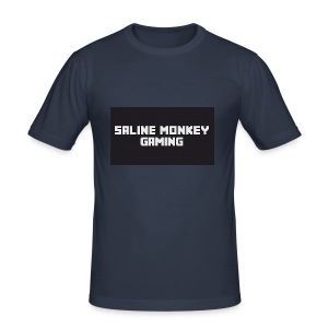 Saline monkey gaming tröja - Slim Fit T-shirt herr