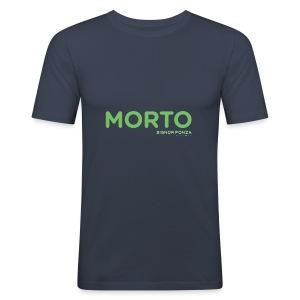 MORTO - Maglietta aderente da uomo