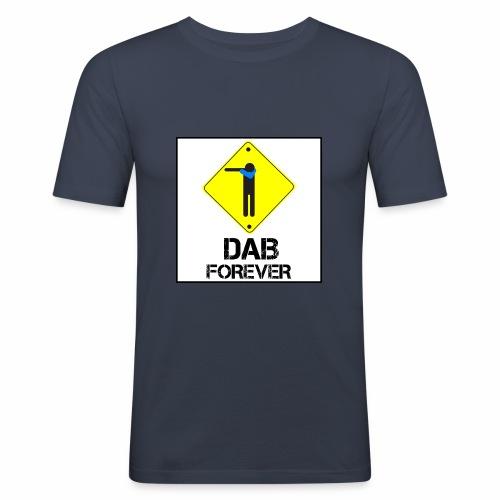 Dab Forever Yellow Black - Maglietta aderente da uomo