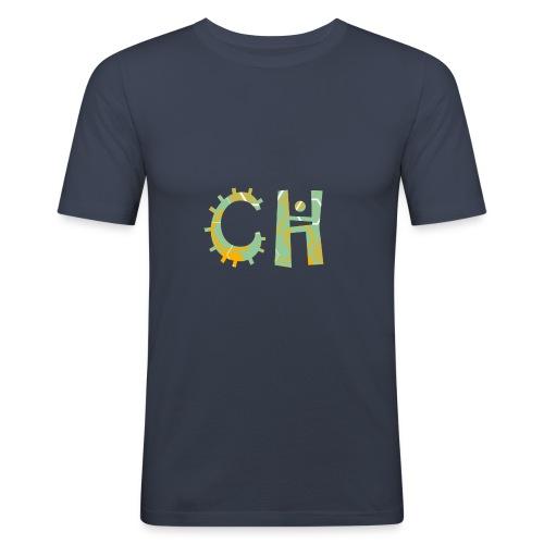 CreaHive - Maglietta aderente da uomo