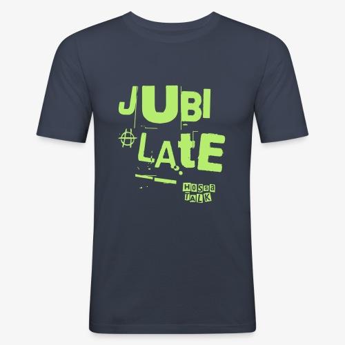 Jubilate-Hoodie - Männer Slim Fit T-Shirt