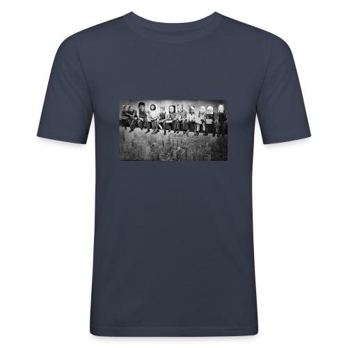 Promi's auf Arbeit - Männer Slim Fit T-Shirt