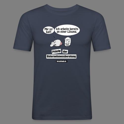 Unternehmensberatung - Männer Slim Fit T-Shirt