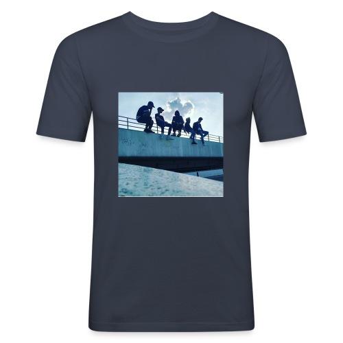 Tumbl er marke - Männer Slim Fit T-Shirt