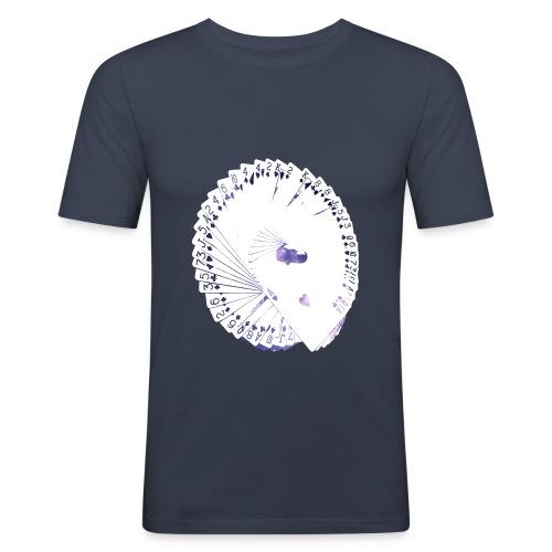 Wearable Cardistry - Universe - T-shirt près du corps Homme