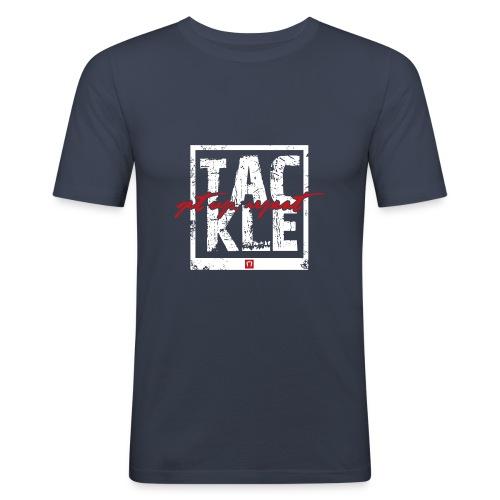 Tackle. Get Up. Repeat - Men's Slim Fit T-Shirt