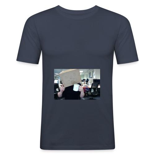 Box Head Mugins - Men's Slim Fit T-Shirt