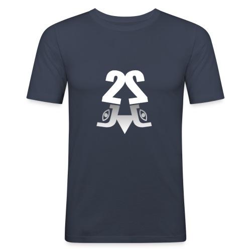 2J Logo - Herre Slim Fit T-Shirt