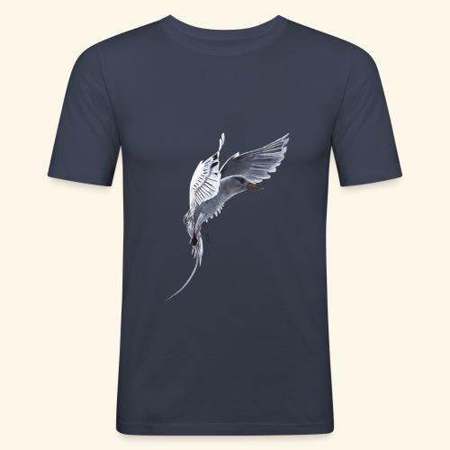 Weißschwanz Tropenvogel - Männer Slim Fit T-Shirt