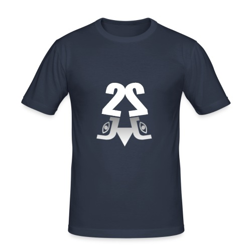 2J Logo - Herre Slim Fit T-Shirt