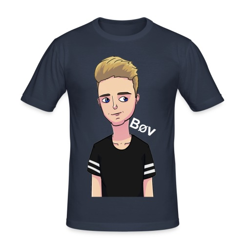 Mangus_A logo - Herre Slim Fit T-Shirt