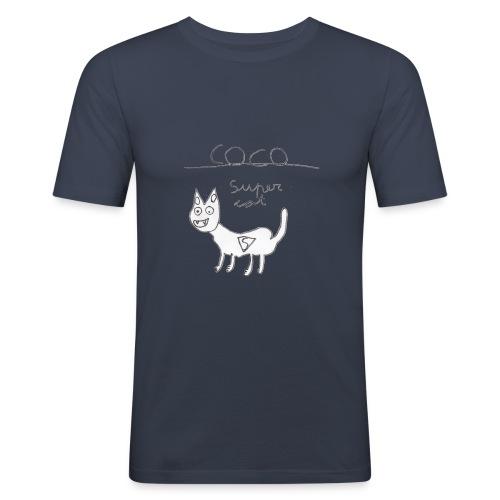 Super cat - Camiseta ajustada hombre