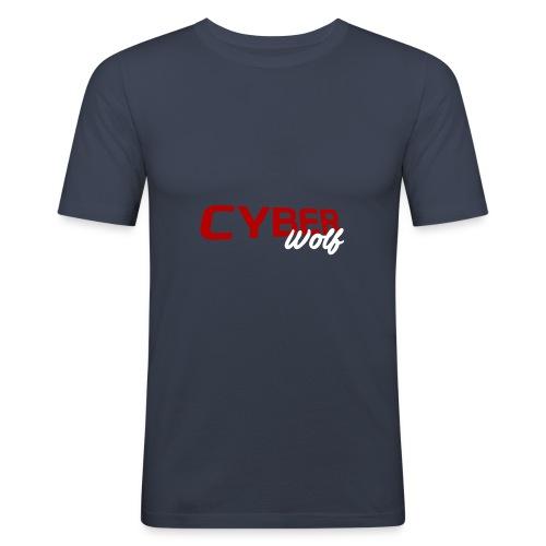 T-shirt Zwart - slim fit T-shirt