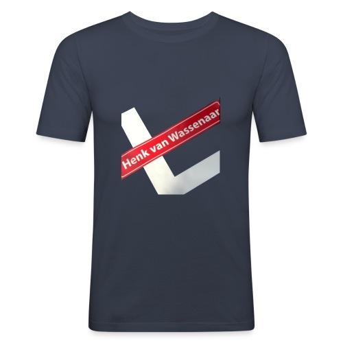 Henkvanwassenaar shirt - slim fit T-shirt