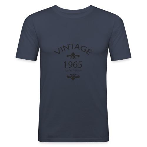 Vintage 1965 Aged to Perfection - Maglietta aderente da uomo