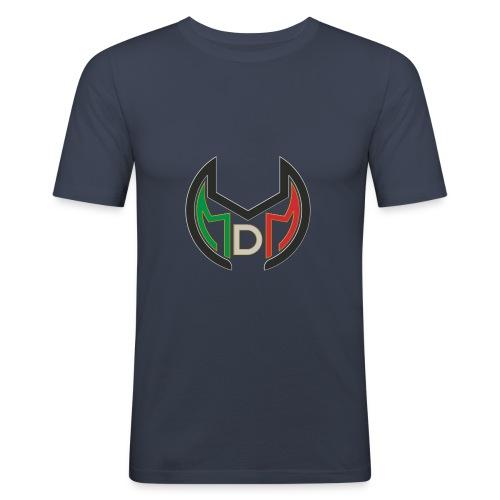 Logo MdM png senza sfondo - Maglietta aderente da uomo