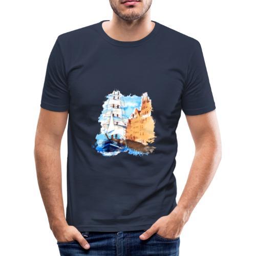 Großsegler - Männer Slim Fit T-Shirt