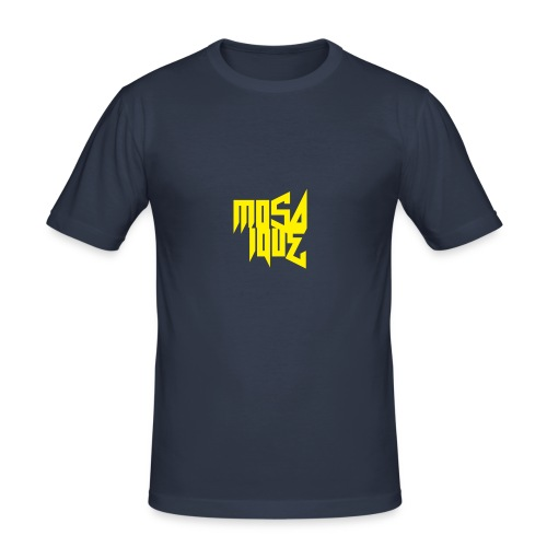 MosaiqueRecords BYellow - T-shirt près du corps Homme