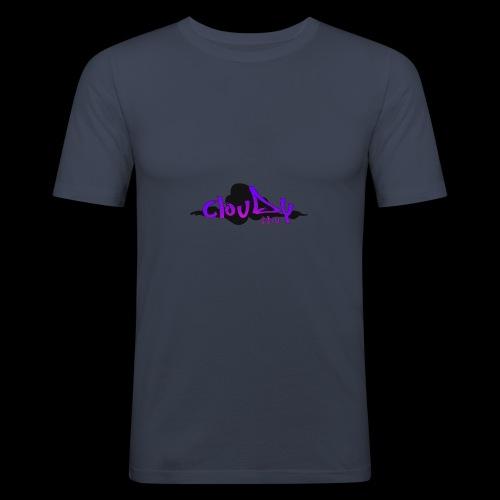 cloudy fpv logo STANDARD - Men's Slim Fit T-Shirt