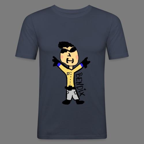 Bendix' Skaterboy - Männer Slim Fit T-Shirt