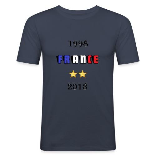 France 1998 2018 - T-shirt près du corps Homme