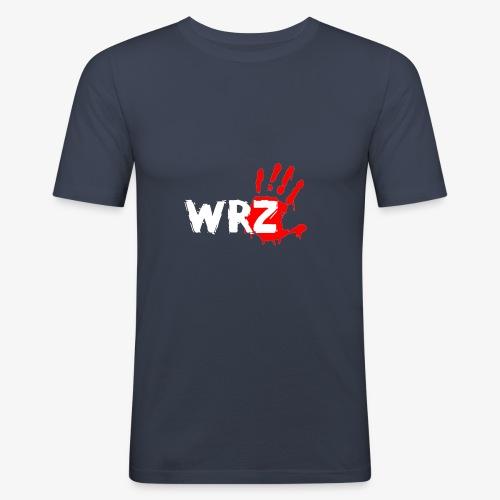 WRZ white version - Men's Slim Fit T-Shirt