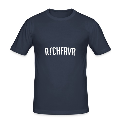 r!chfrvr - Männer Slim Fit T-Shirt