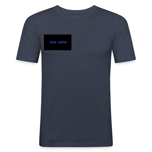 Itz Sxth Navy Clothing - Men's Slim Fit T-Shirt