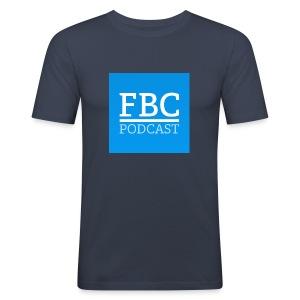 fbc-podcast merchandise - Männer Slim Fit T-Shirt