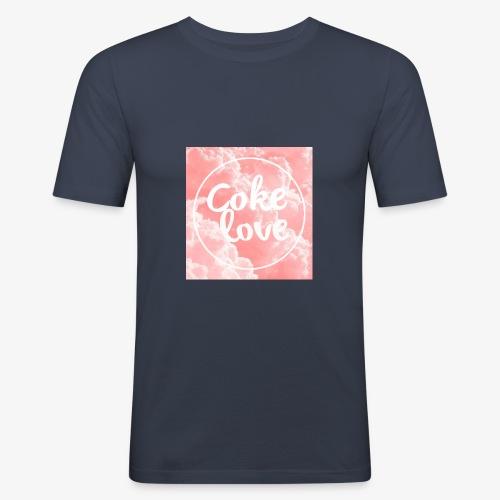 rose - T-shirt près du corps Homme