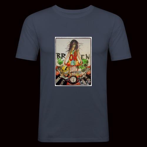 BrOKen - T-shirt près du corps Homme