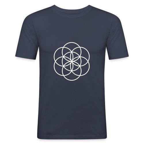iconsns - Männer Slim Fit T-Shirt