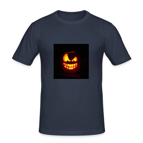 halloween jack - Maglietta aderente da uomo