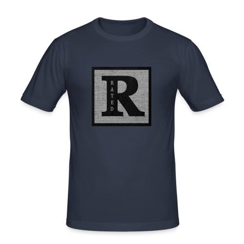 RaTeD R t-shirt - Men's Slim Fit T-Shirt