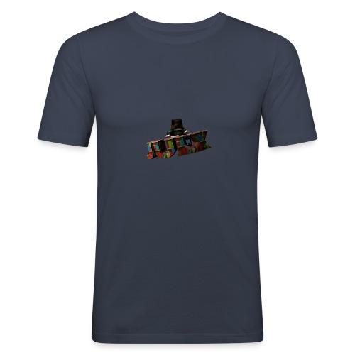 Ein Skinrender von dem YouTuer Julx - Männer Slim Fit T-Shirt