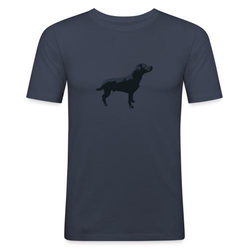 Labrador stehend - Männer Slim Fit T-Shirt