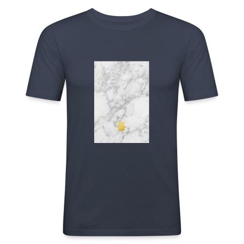 Marble - Men's Slim Fit T-Shirt
