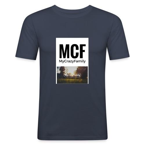 MCF_-3- - Camiseta ajustada hombre