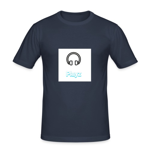 Headphone playz - Men's Slim Fit T-Shirt