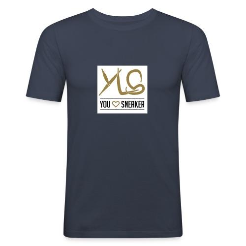 you love sneaker - Männer Slim Fit T-Shirt