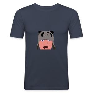 HUB PANDA - Tee shirt près du corps Homme