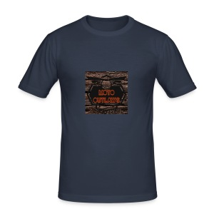 Moto Outlaws - Männer Slim Fit T-Shirt