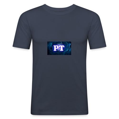Project T Logo - Men's Slim Fit T-Shirt