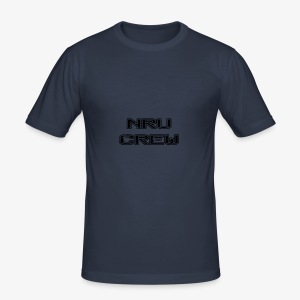 NRU Crew - Men's Slim Fit T-Shirt