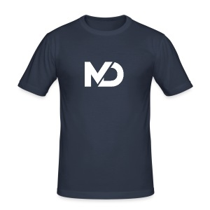 logo_wit - slim fit T-shirt
