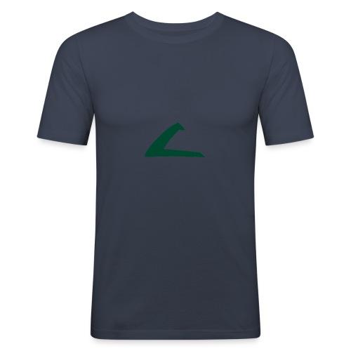 PKMN Cap Logo - Men's Slim Fit T-Shirt