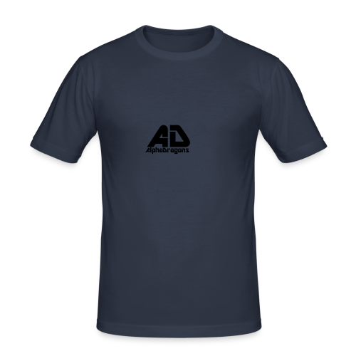 Alpha Dragons Retro - Männer Slim Fit T-Shirt