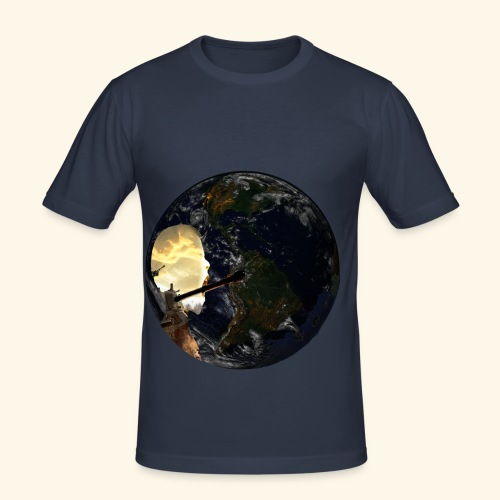 Fighty - Männer Slim Fit T-Shirt