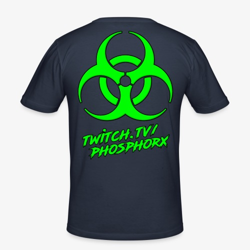 twitch phosphorx hinten - Männer Slim Fit T-Shirt