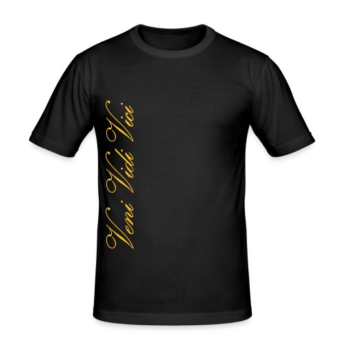 Veni Vidi Vici - Miesten tyköistuva t-paita